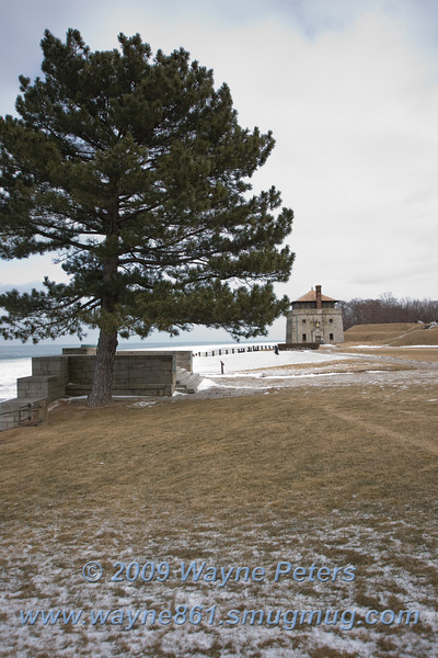 Old Fort Niagara, February 13, 2010.