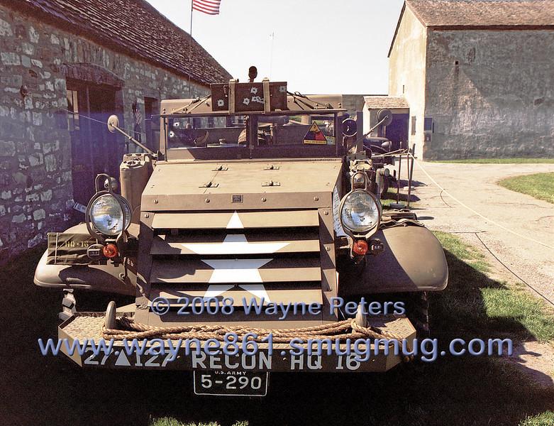 World War Two vehicles at Old Fort Niagara