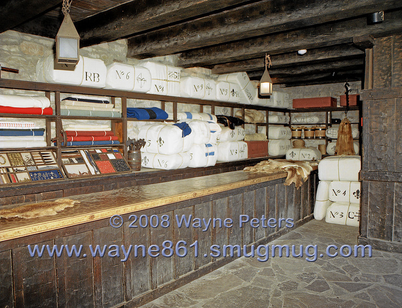 The Trade Room at Old Fort Niagara.
