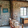 Barrels in the Historical Institute at Old Fort Niagara, February 19, 2009.