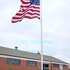 Flag pole dedication at Old Fort Niagara on December 9, 2012