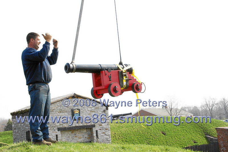 Re-arming the Dauphin Battery at Old Fort Niagara