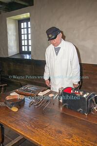 Civil War Garrison at Old Fort Niagara, June 6, 2013.