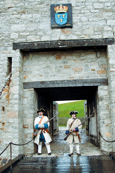Old Fort Niagara, French Heritage Day 2010