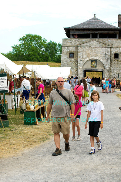 French and Indian War Encampment 2012 at Old Fort Niagara