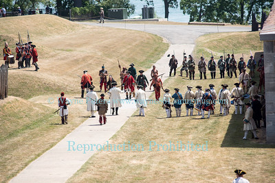 French & Indian War Encampment 2016 at Old Fort Niagara.