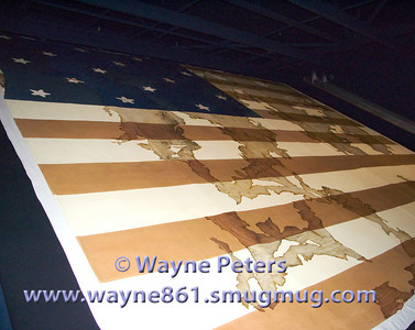 60 This is the war of 1812 garrison flag that was captured when the British took Fort Niagara on December 19, 1813. This image will print as an 8x10.