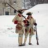 Snowshoe Patrol at Old Fort Niagara.