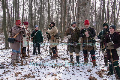 Snowshoe Patrol 2017 at Old Fort Niagara, February 4, 2017 in Youngstown, NY.