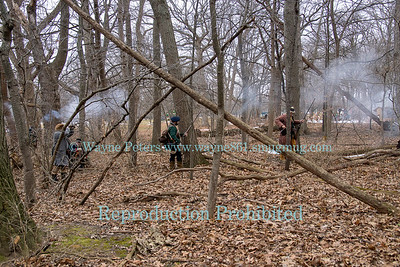 Winter Woods Battle 2018 at Old Fort Niagara , February 17, 2018 in Youngstown, NY.