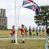 Soldiers Of The Revolution at Old Fort Niagara, August 13-14, 2016.