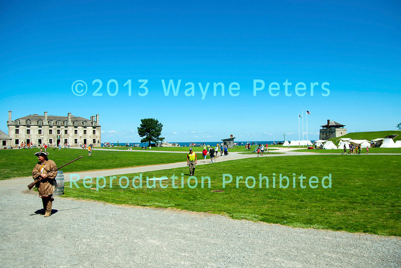 Soldiers Of The Revolution 2013 at Old Fort Niagara.