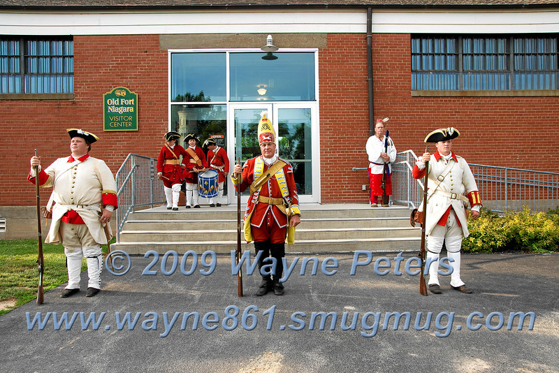 Colonel Eyre Massey portrait unveiling at Old Fort Niagara