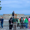 The Easter Sunrise Service at Old Fort Niagara, April 15, 2017.