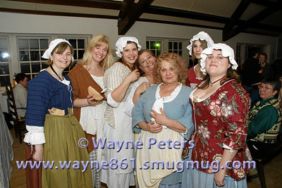 Here are the serving wenches who kept the drinks flowing all night long.