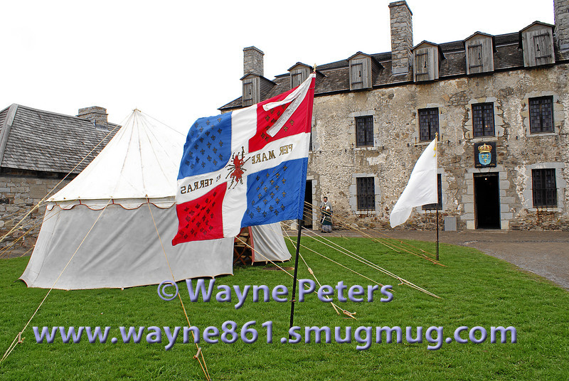 "The 2007 ""School of the Soldier"" weekend at Old Fort Niagara."