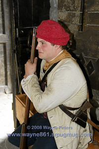 The 2008 School of the Soldier event at Old Fort Niagara.