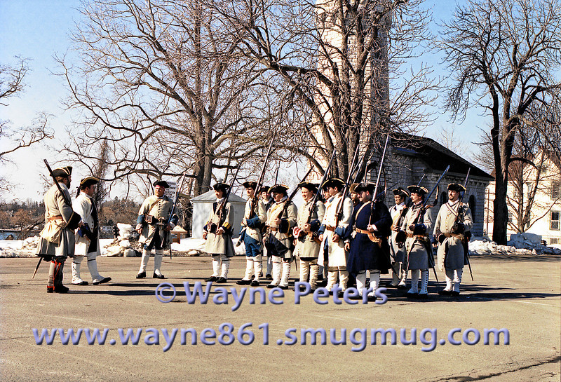 The School of the Soldier 2003 at Old Fort Niagara.