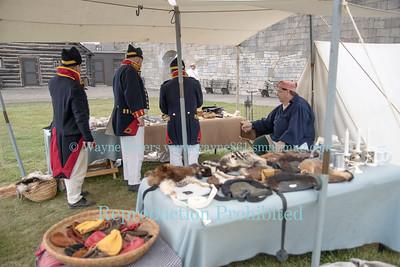 War Of 1812 Weekend at Old Fort Niagara.