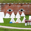 The 2006 War of 1812 weekend at Old Fort Niagara.