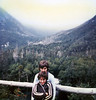 Leann & Mark on Mt. Washington, circa 1977<br /> This was at the Hermit Lake shelters on the mountain.