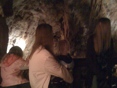 In the Glenwood Caverns