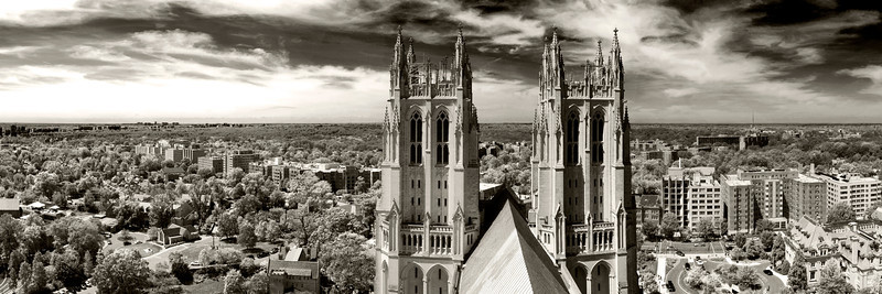 View of DC from the National Cathedral