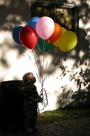 01-A3A719 [e] Logan & Balloons by Fred Schwilk