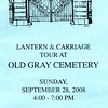 Old Gray Cemetery Lantern & Carriage Tour