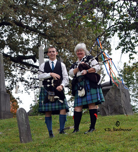 Wyatt Brown & Katie Helms, Bagpipers