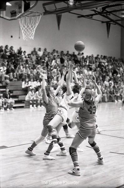 1979 GHS girls VS Reinbeck 635