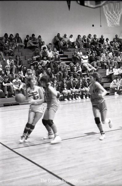 1979 GHS girls VS Reinbeck 632