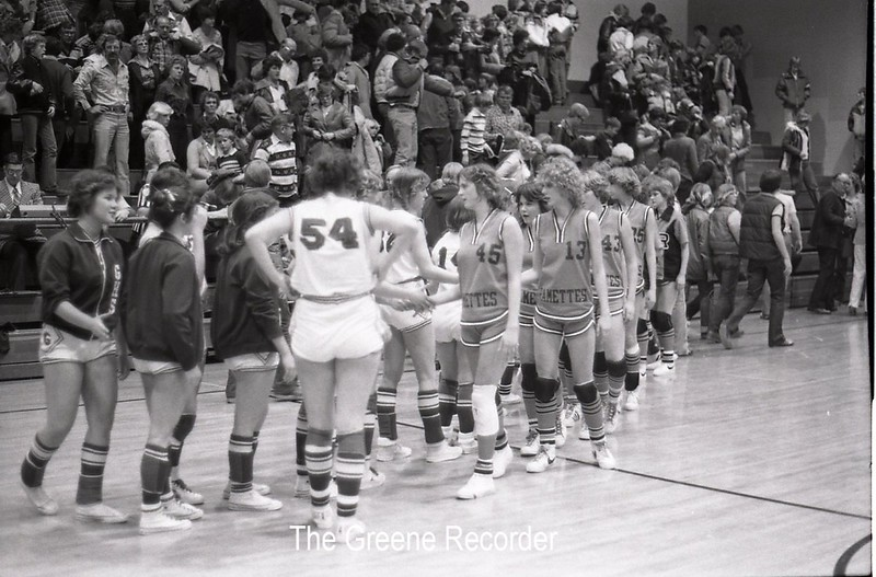 1979 GHS girls VS Reinbeck 636