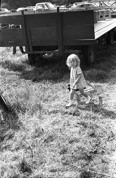1970 sheet 56 little girl at tractor Pull 728