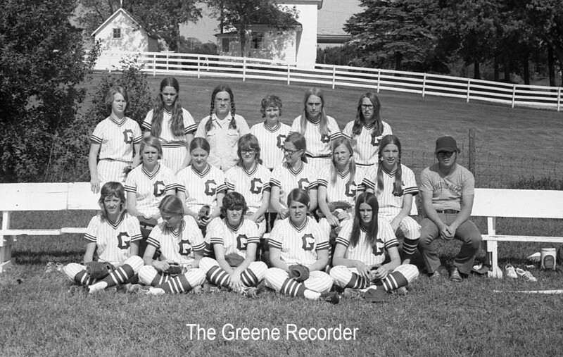 1973 sheet 20A softball teaam 180