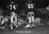 1974 FB game sheet 30 605