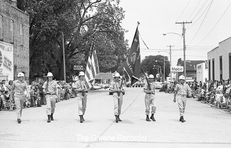 1974 RD Parade 369 Color guard