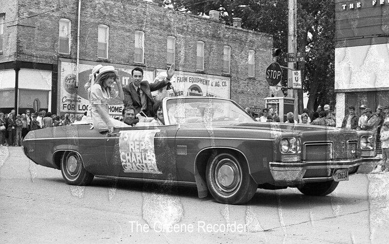 1974 RD Parade 350state rep  Grassley