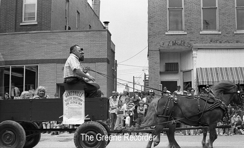 1974 RD Parade 322Janesville horses