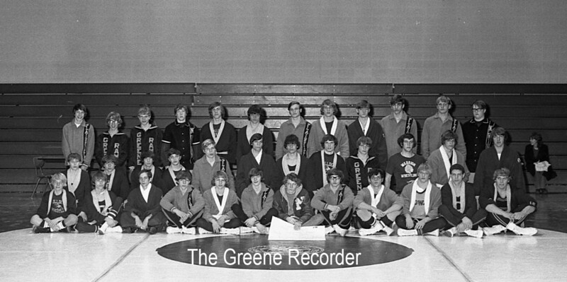 1974 Sheet 3 wrestling team 1427
