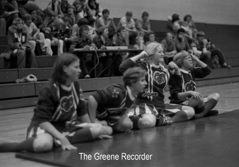1978 cheerleaders sheet 37 392