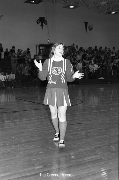 1981 BB cheerleader sheet 37 907