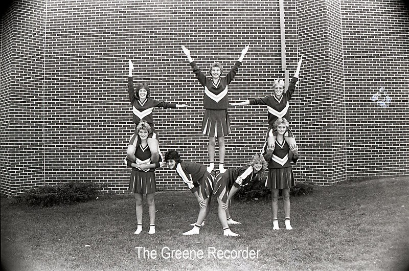 1985 Cheerleaders sheet 08 822