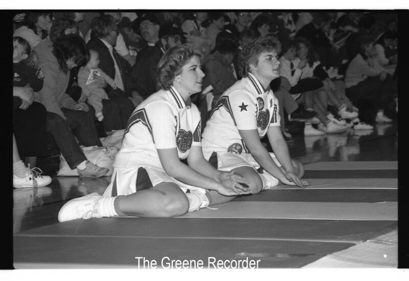 1985 Sect Wrest cheerleaders Feb 15 945