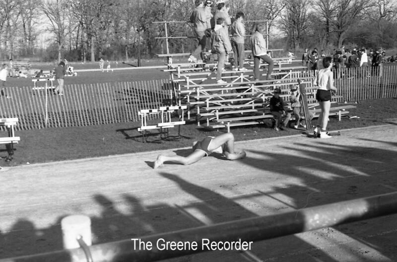 1986 Track Sheet 40 611
