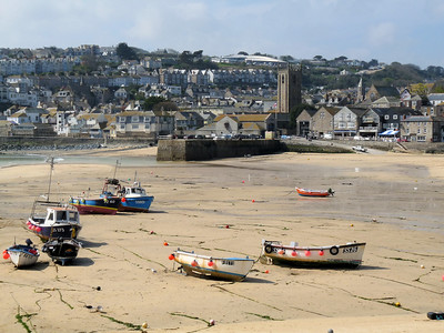 St. Ives Tide Out