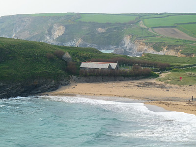 Church at Gunwalloe
