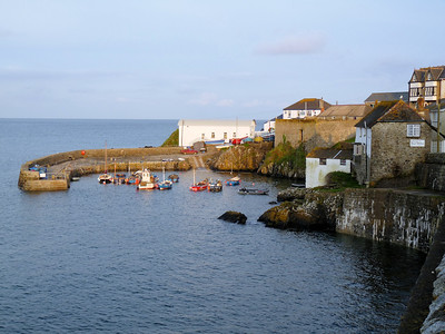 Coverack Harbor