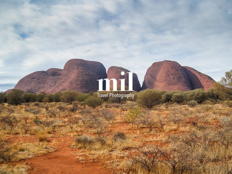 The Olgas near Uluru in Australia