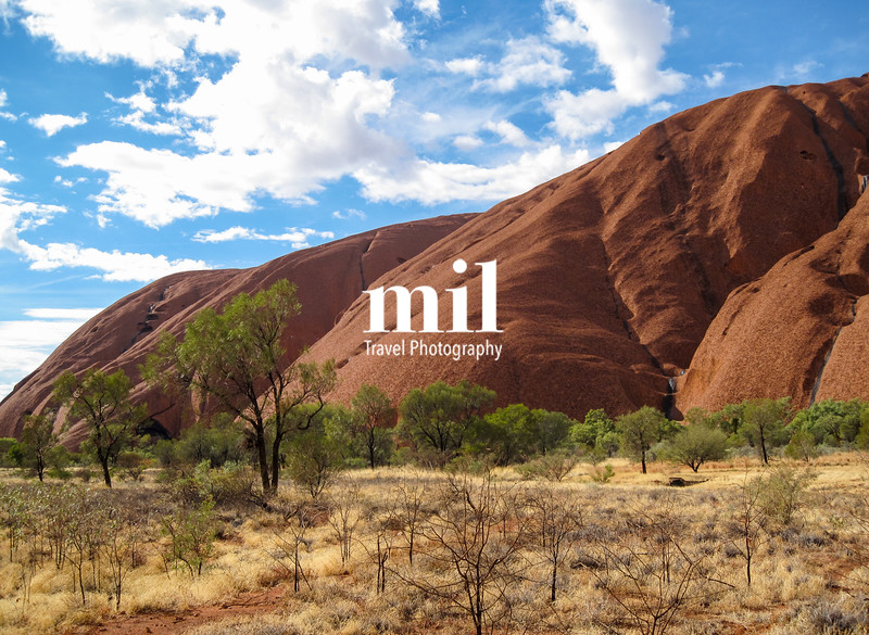 Ayers Rock Uluru in Australia